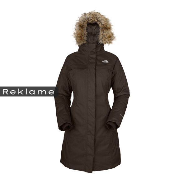 The North Face W Arctic Parka i brun fra North Face
